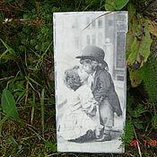 """Для дома и интерьера ручной работы. Ярмарка Мастеров - ручная работа Купюрница """"Первый поцелуй"""". Handmade."""