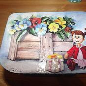 Для дома и интерьера ручной работы. Ярмарка Мастеров - ручная работа Шкатулка Кукла. Handmade.