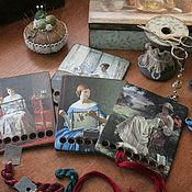 Для дома и интерьера handmade. Livemaster - original item Organizer for embroidery floss. Decoupage. Handmade.