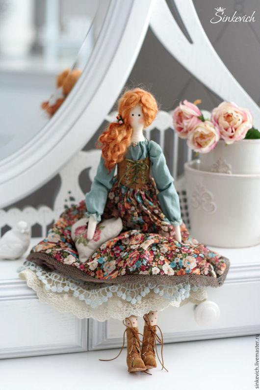Куклы Тильды ручной работы. Ярмарка Мастеров - ручная работа. Купить Даяна. Handmade. Тильда, для декора, кожа натуральная