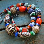 """Украшения ручной работы. Ярмарка Мастеров - ручная работа Бусы """"Марокко"""". Handmade."""