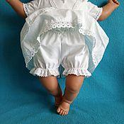 Работы для детей, handmade. Livemaster - original item Shorts for a christening dress. Handmade.