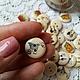 Шитье ручной работы. Пуговица деревянная Сад-огород 18 мм. HobbyMarket (ткани). Интернет-магазин Ярмарка Мастеров. Пуговица