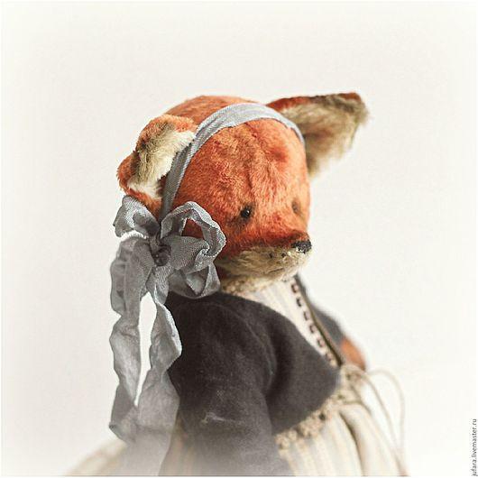 Мишки Тедди ручной работы. Ярмарка Мастеров - ручная работа. Купить Family fox - Liza- ХТ2015. Handmade. Рыжий, лиса