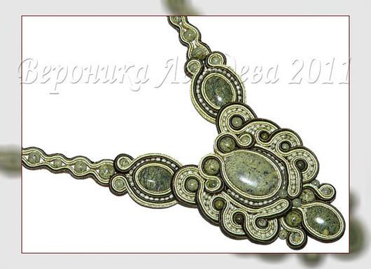 Pendants handmade. Livemaster - handmade. Buy Pendant with a coil.Pendant, designer jewelry, soutache embroidery, czech beads