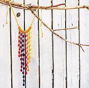 Украшения ручной работы. Ярмарка Мастеров - ручная работа вязаные украшения этно украшения ювелирные изделия дизайнерские бусы. Handmade.