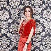 Платья ручной работы. Ярмарка Мастеров - ручная работа Вечернее платье в пол. Handmade.