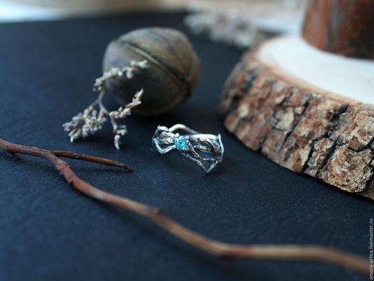 Кольца ручной работы. Ярмарка Мастеров - ручная работа. Купить лесное кольцо. Handmade. Бирюзовый, лес, необычное кольцо