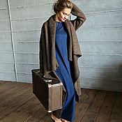 Одежда ручной работы. Ярмарка Мастеров - ручная работа Пальто СOZY BROWN MELANGE. Handmade.