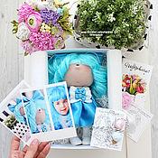 Портретная кукла ручной работы. Ярмарка Мастеров - ручная работа Мальвина портретная кукла подарок девочке. Handmade.