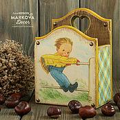 """Для дома и интерьера ручной работы. Ярмарка Мастеров - ручная работа Короб """"На Ветру..."""". Handmade."""