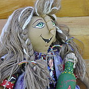 Куклы и игрушки ручной работы. Ярмарка Мастеров - ручная работа Баба-Яга -бальзаковский возраст. Handmade.