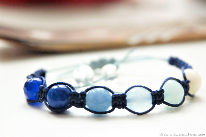 """Браслет-шамбала """"Долгая память"""", Bead bracelet, Kaluga,  Фото №1"""