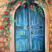 """Картины и панно ручной работы. Ярмарка Мастеров - ручная работа """"Дверь в лето"""". Handmade."""