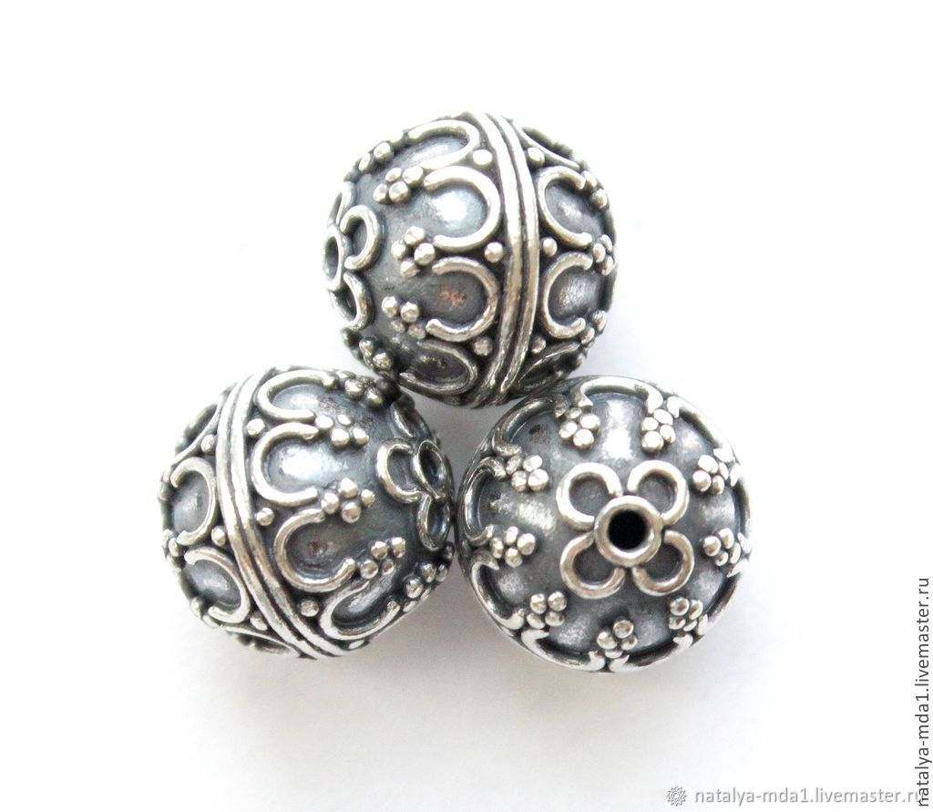 Серебро с бали фото изделий