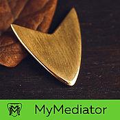 Музыкальные инструменты handmade. Livemaster - original item The mediator brass: Arrow. Handmade.