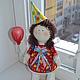Коллекционные куклы ручной работы. Заказать Кукла  малышка. Лариса Макарова. Ярмарка Мастеров. Подарок на день рождения, кружево