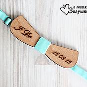 Аксессуары handmade. Livemaster - original item Men`s bow tie from the tree to the wedding. Handmade.