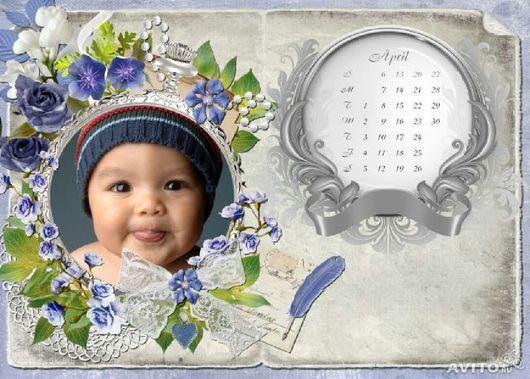Персональные подарки ручной работы. Ярмарка Мастеров - ручная работа. Купить Календарь. Handmade. Календарь, бумага