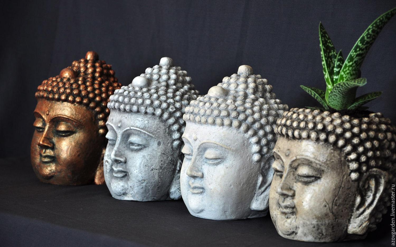 Buddha Head Decor Buy Buddha Head Made Of Concrete Bronze Clay Stone Aged Bronze