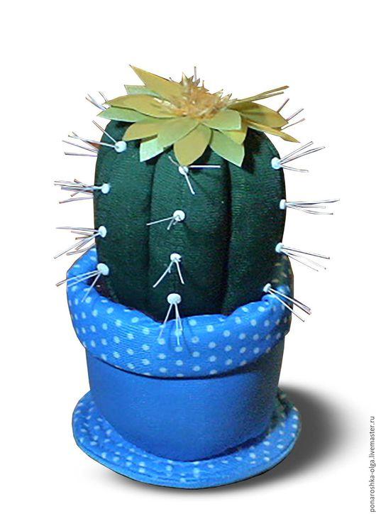 Персональные подарки ручной работы. Ярмарка Мастеров - ручная работа. Купить кактус. Handmade. Зеленый, кактус, кактусы