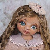 Куклы и игрушки ручной работы. Ярмарка Мастеров - ручная работа Алиса коллекционная текстильная кукла. Handmade.