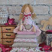 """Куклы и игрушки ручной работы. Ярмарка Мастеров - ручная работа Принцесса на горошине Тильда """"Розовый десерт"""". Handmade."""