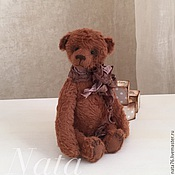 Куклы и игрушки ручной работы. Ярмарка Мастеров - ручная работа Миниатюрный медвежонок Гоша. Handmade.