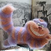 Куклы и игрушки ручной работы. Ярмарка Мастеров - ручная работа Чеширский кот валяная игрушка. Handmade.