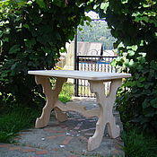 Для дома и интерьера handmade. Livemaster - original item Solid cedar Refectory. Handmade.
