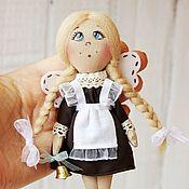 Куклы и игрушки ручной работы. Ярмарка Мастеров - ручная работа Школьная фея. Талисман. Текстильная кукла. Handmade.
