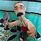 Персональные подарки ручной работы. Портретная кукла на заказ по фото  -Танцор-теннисист. Jekky. Интернет-магазин Ярмарка Мастеров.