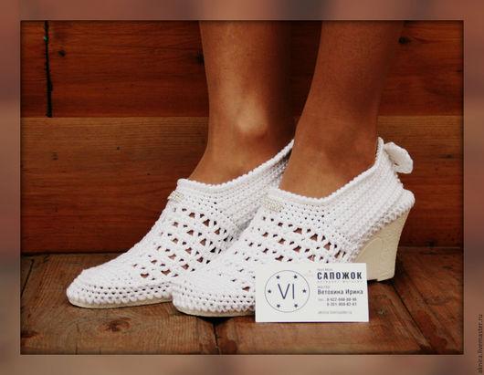Обувь ручной работы. Ярмарка Мастеров - ручная работа. Купить Туфли невесты, туфли женские, туфли летние, обувь женская. Handmade.