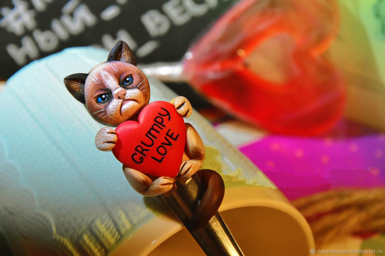 Ложечка Grumpy love, Ложки, Чайковский,  Фото №1