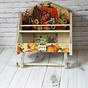 Для дома и интерьера handmade. Livemaster - original item Shelves:Spice shelf