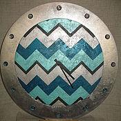 Для дома и интерьера ручной работы. Ярмарка Мастеров - ручная работа Декоративные настенные часы. Handmade.