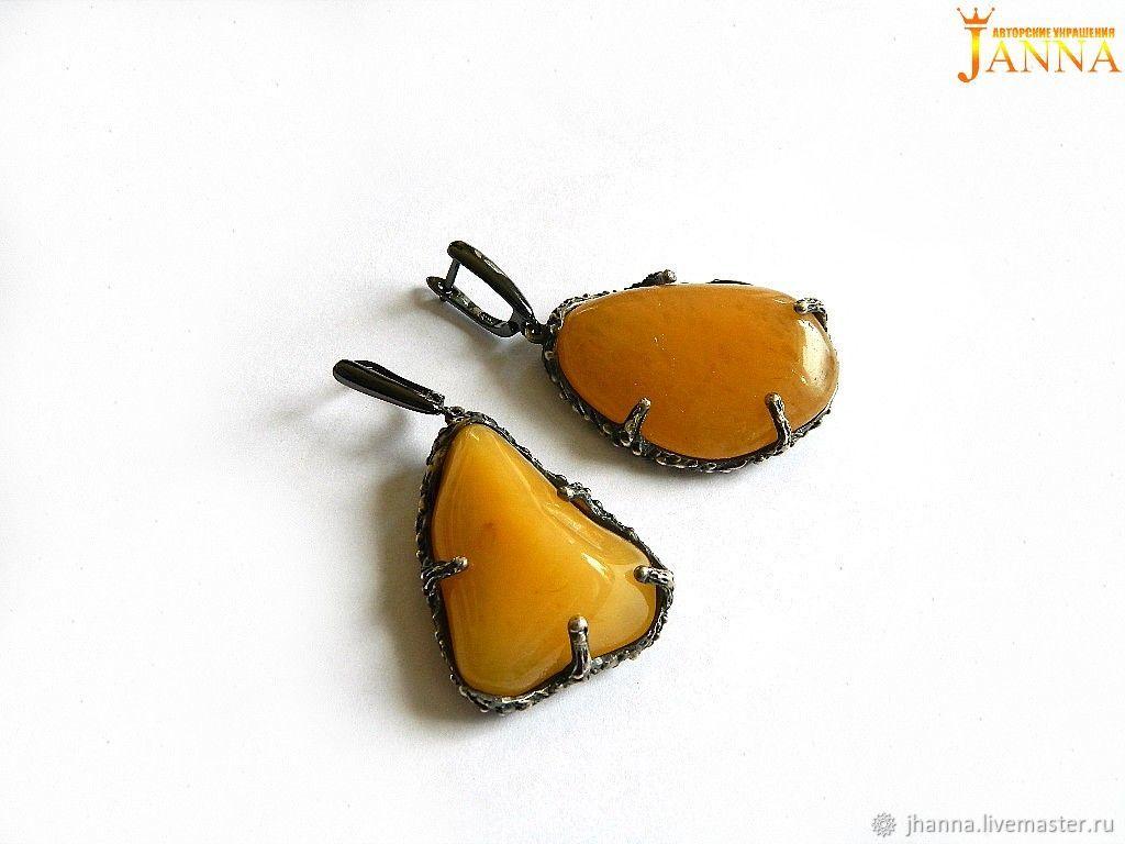 AVENTURINE. ' Kelly' earrings with natural aventurine, Rings, Volgograd,  Фото №1