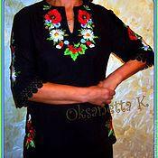 """Блузки ручной работы. Ярмарка Мастеров - ручная работа Блуза """"Cимфония"""". Handmade."""