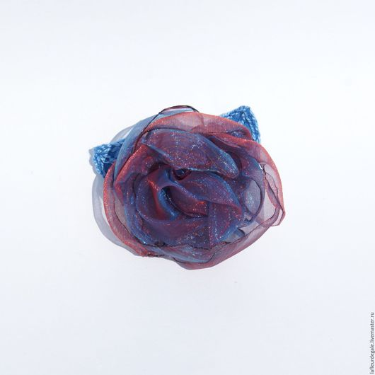 Броши ручной работы. Ярмарка Мастеров - ручная работа. Купить «Масака» («Masaka»).. Handmade. Комбинированный, брошь цветок, цветы из ткани