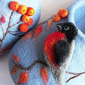 Обувь ручной работы handmade. Livemaster - original item Home felt Slippers