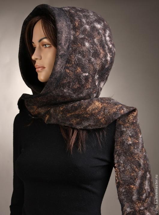 башлык шарф-капюшок