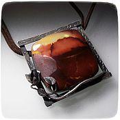 Украшения handmade. Livemaster - original item Mucahit pendant