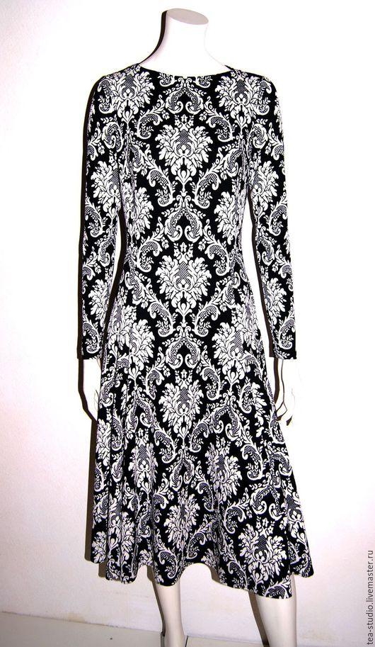 Платья ручной работы. Ярмарка Мастеров - ручная работа. Купить Платье   модель 10161. Handmade. Платье, цветочный, платье трикотажное