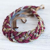 Русский стиль handmade. Livemaster - original item necklaces
