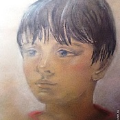Картины и панно handmade. Livemaster - original item The picture-portrait