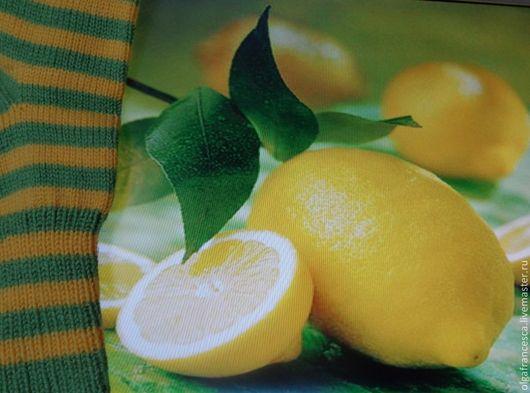 Носки, чулки ручной работы. Носки вязаные. Носочки вязаные «Лимончики» из коллекции «Подарки». Olgafrancesca . Ярмарка мастеров.