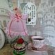 Куклы Тильды ручной работы. Ярмарка Мастеров - ручная работа. Купить Cake anglel - тильда-ангел Сладкоежка. Handmade.