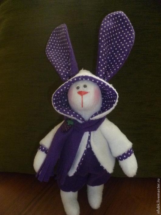 Игрушки животные, ручной работы. Ярмарка Мастеров - ручная работа. Купить заяц тильда из флиса. Handmade. Флис, мягкая игрушка