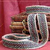 Русский стиль ручной работы. Ярмарка Мастеров - ручная работа Тканый на дощечках пояс. Handmade.