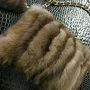Меховая сумочка из соболя